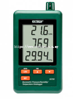 SD700: Barometric Pressure/Humidity/Temperature Datalogger