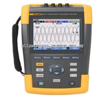 Fluke 434-II and 435-II Power Quality and Energy Analyzers