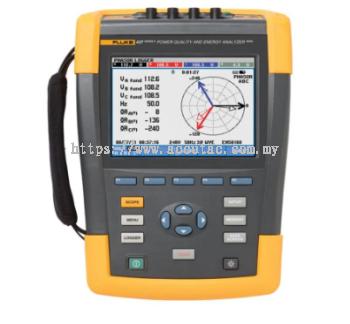 Fluke 437 Series II 400 Hz Power Quality Monitor and Energy Analyzer