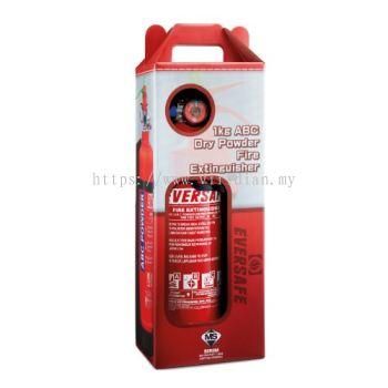 Eversafe 1KG ABC Dry Powder Portable Fire Extinguisher