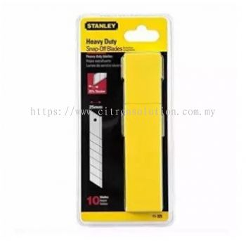Stanley (11-325-0) 25mm High Quality Quick-Point Sharp Blade Cutter Replacement 10pcs