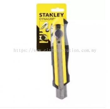 Stanley (10-425) 25mm High Impact Sharp Snap-Off-Knife with DynaGrip (Yellow)