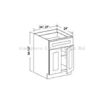 Base Cabinet with 1 Drawer & 2 Doors