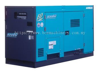 Airman 60 KVA Generator - SDG60S-3A6 - BCE Machinery Sdn Bhd