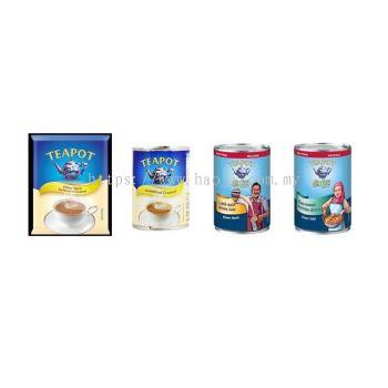 Teapot Pouch (2.5kg), Extra, Extra Creamer, Krimer Sejat