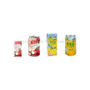 Yeo's Lychee & Ice Lemon Tea