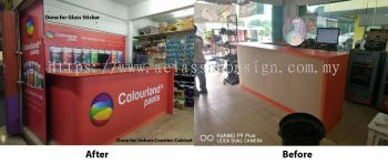 Indoor Counter Cabinet @ Nilai Agriculture Hardware