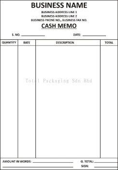 Cash Bill