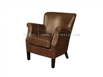 Single Arm Chair (Leather/ PVC)
