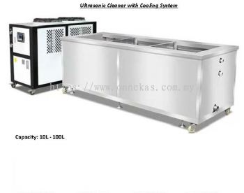 Ultrasonic Cleaner with Cooling System