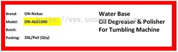 Oil Degreaser & Polisher for De-burring System