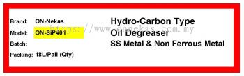 Solvent Degreaser SIP401