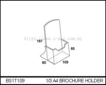 BS1T109 1/3 A4 BROCHURE HOLDER