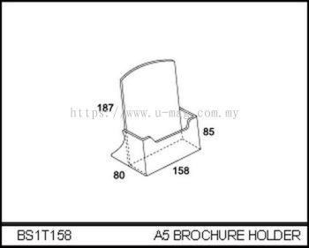 BS1T158 A5 BROCHURE HOLDER