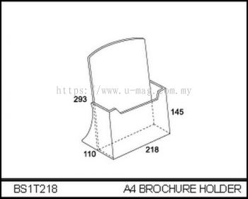 BS1T218 A4 BROCHURE HOLDER