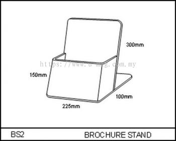 BS2 BROCHURE STAND