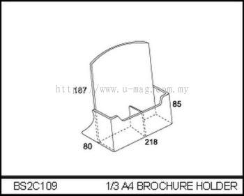 BS2C109 1/3 A4 BROCHURE HOLDER