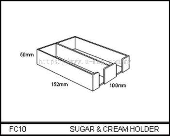 FC10 SUGAR & CREAM HOLDER