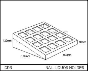 CD3 NAIL LIQUOR HOLDER