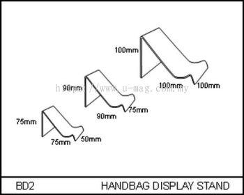BD2 HANDBAG DISPLAY STAND
