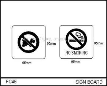 FC48 SIGN BOARD