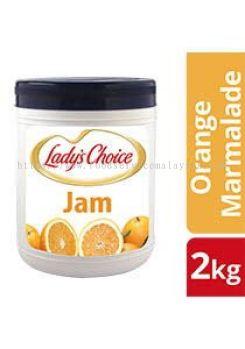 Lady's Choice Orange Marmalade Jam (4 x 2 kg)
