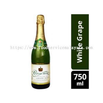 ROYAL SELECT White Grape Sparkling Juice (12 x 750 ml)