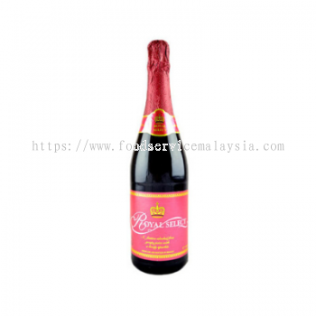 ROYAL SELECT Red Grape Sparkling Juice (12 x 750 ml)