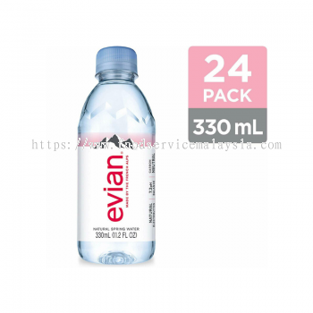 EVIAN Mineral Water (24 x 330 ml)
