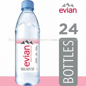 EVIAN Mineral Water (500ml)