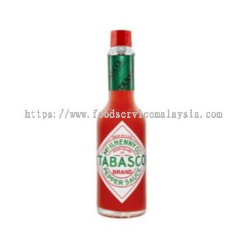 Tabasco Pepper Sauce (Red) (12 x 60 ml)