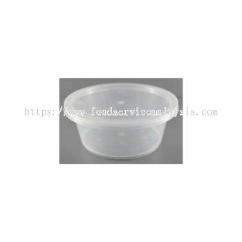 MS1200 Round Container With Lids (50��s x 6 pkt)