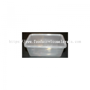 MS1000 Rectangular Container With Lids (50��s x 10 pkt)
