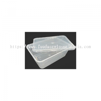 MS750 Rectangular Container With Lids (50��s x 10 pkt)