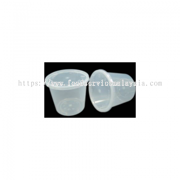 MS30 Round Container With Lids (50��s x 10 pkt)