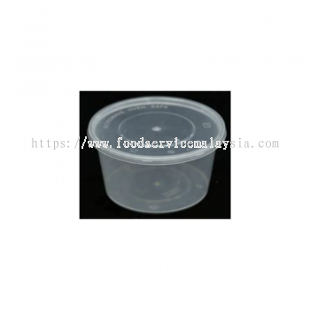 MS20 Round Container With Lids (50��s x 10 pkt)