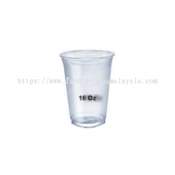16oz PP Clear Cup With Lid (100��s x 10 roll)
