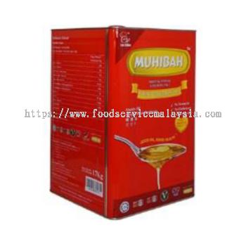 Muhibah Vegetable Cooking Oil (Tin) (17 kg/tin)