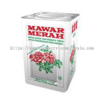 Mawar Merah Cooking Oil (Tin) (17 kg/tin)