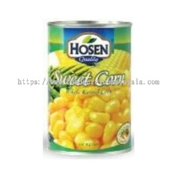 Hosen Whole Kernel Corn (24 x 400 gm)