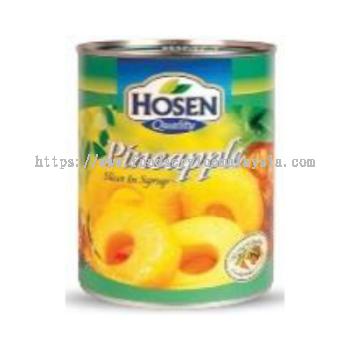 Hosen Pineapple Sliced (24 x 565 gm)