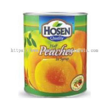 Hosen Peaches Halves (12 x 825 gm)