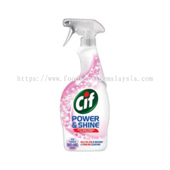CIF Power & Shine Anti-Bacterial Multi Purpose Cleaner (6 x 700 ml)