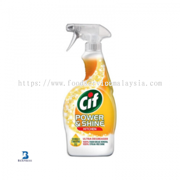 CIF Power & Shine Kitchen Cleaner (6 x 700 ml)