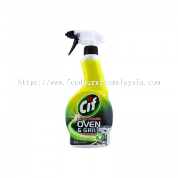 CIF Ultra Power Oven & Grill Cleaner (6 x 500 ml)