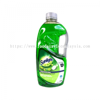 Sunlight  Hand Dishwashing Liquid (Lime) (9 x 1.5 L)