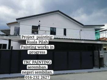 # Project: #Kuala Pilah #要油漆#找我们#Paint it.#Looking Me!TKC Painting#Seremban#Negeri Sembilan #拥有20年的油漆经验 #让您安心~#价格最公道! ●#承包与#承接:#各室内外大小油漆工程与#油漆服务。 ~#业大小油漆#单层/#双层店屋与#排屋#Banglo,#半独立式,#独立式,#蓄水池#TNB,#酒店,#工,#神庙,#学校等各大小 '油漆'…… #Painting services &#Painting Projects #package labor and materials。 #Shophouse, #home, #temple, #factory,#Tangki#and #school…… https://m.facebook.com/tkcpaintingN.S/?ref=bookmarks https://www.facebook.com/pg/tkcpaintingN.S/about/https://www.tkcpainting.com.myhttp://wa.me/60162322627whatsapp:016-232 2627