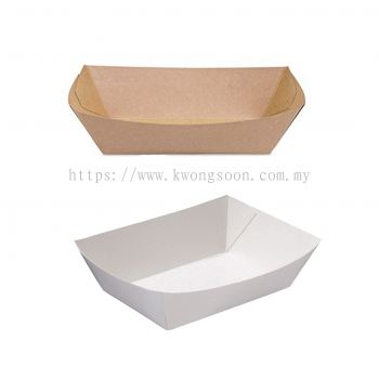 Paper Tray Brown White Paper Tray