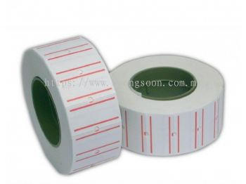 DL Double Line Price Label Roll