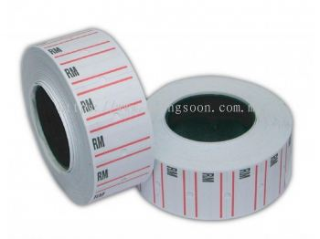 RM Price Label Roll RM